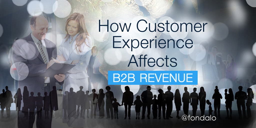 How Customer Experience Affects B2B Revenue