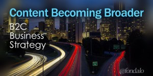 B2C content marketing part of bigger business strategy