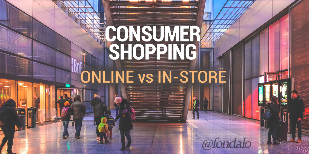Consumer Shopping – Online vs In-Store