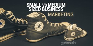 The difference between small and medium business SMB marketing