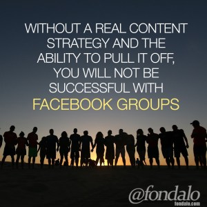 How to use content in Facebook groups to drive traffic