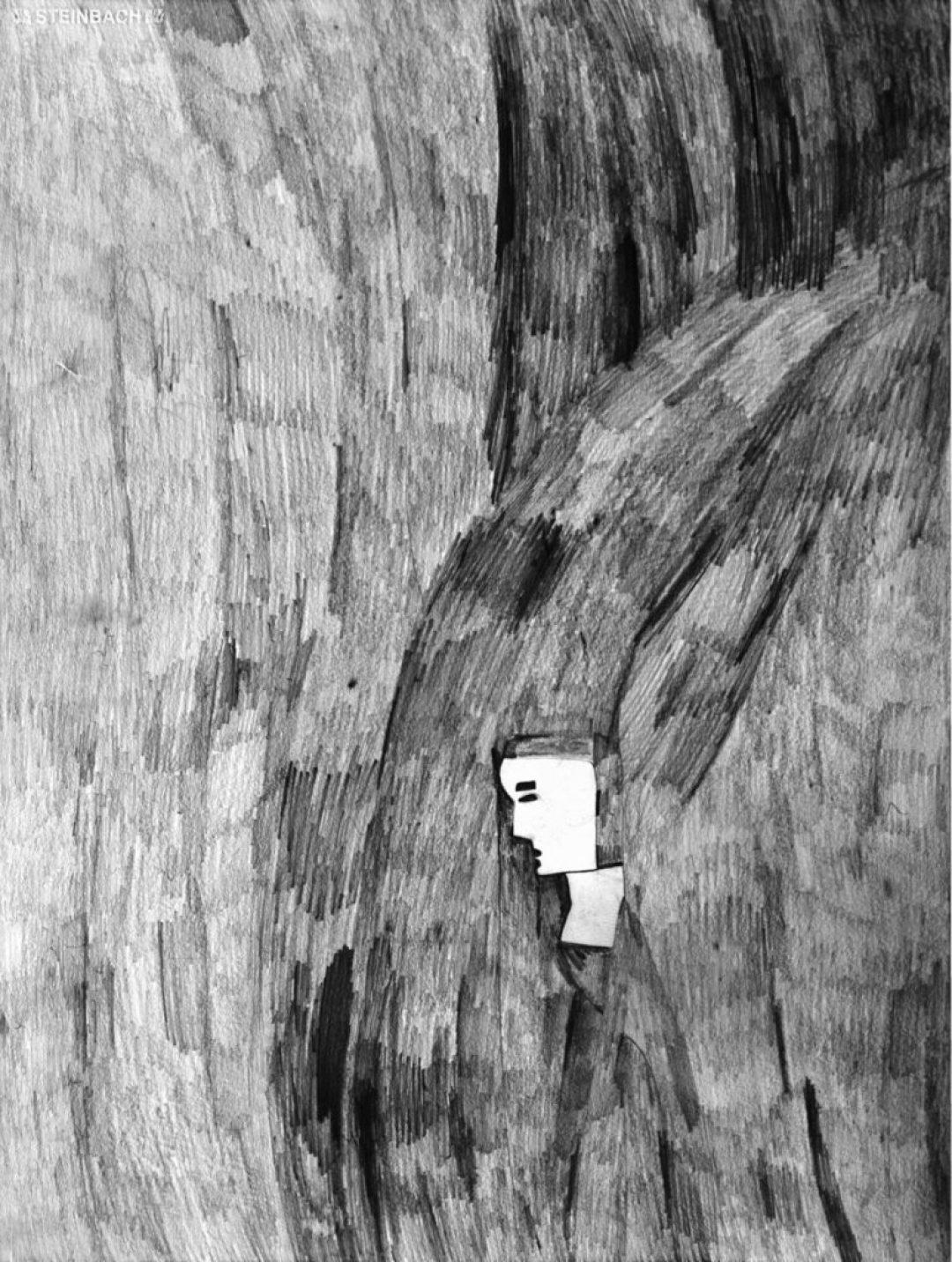 Alexis Lippstreu, Sans titre, 2005, crayons gris sur papier, 73 x 55 cm