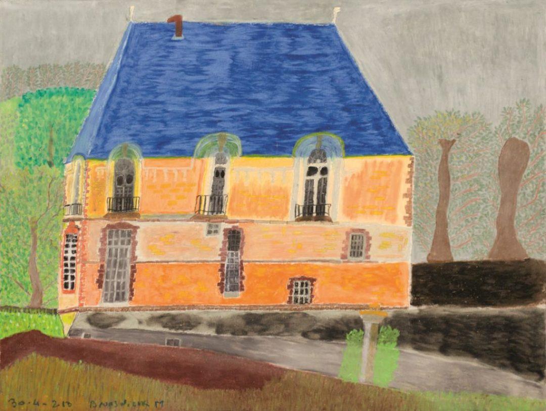 Maurice Brunswick, Sans titre, 2013, crayon de couleur sur papier, 55 x 73 cm_1