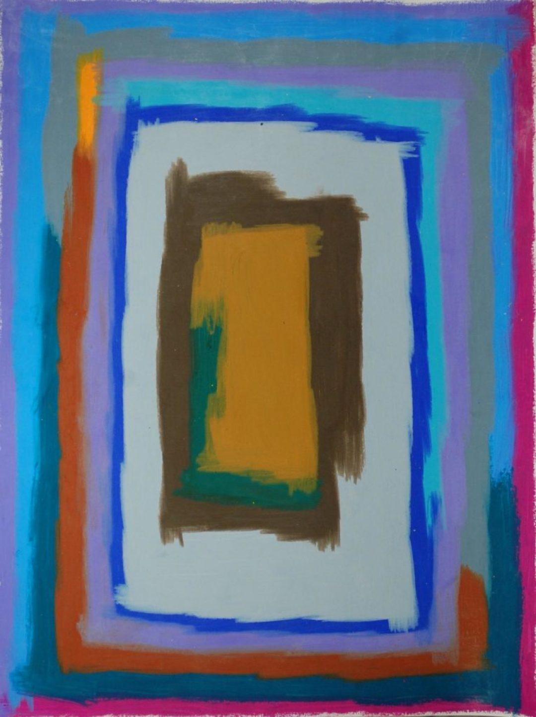 François Defontaine, Sans titre, nd (2014-2016), pastel gras sur papier, 73 x 55 cm