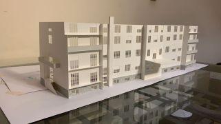 Nuovi appartamenti cohousing (plastico)