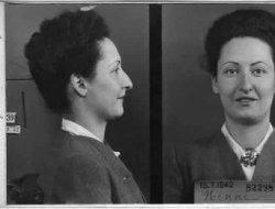 Vittoria Nenni foto segnaletica arresto