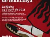 Nova cita de muntanya a la comarca: Cursa de la Ràpita el 14 d'abril