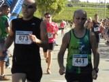 Sixto Pallàs fa la marató de Castelló.