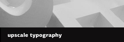 upscaletypography
