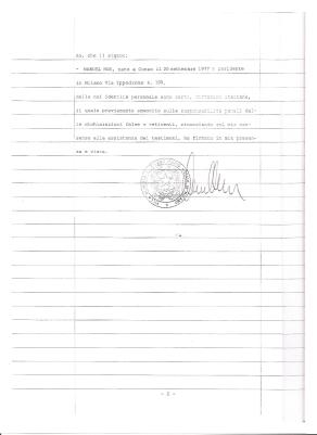 Atto Notaio Fondo Manuel Pag.2