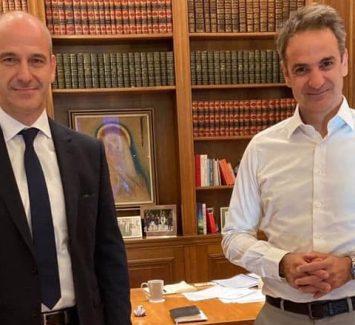 Συνάντηση με τον Πρωθυπουργό Κυριάκο Μητσοτάκη