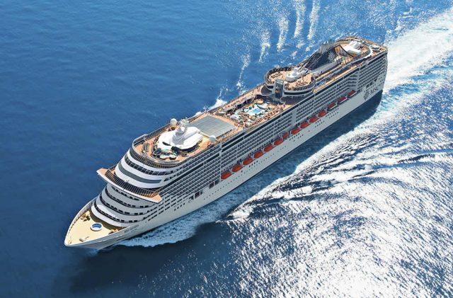 Primeiro navio chega neste domingo (25) com o cruzeiro temático do cantor Wesley Safadão. Foto: Reprodução/ Internet