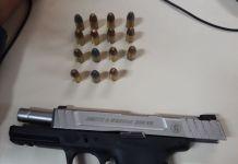 Homem é preso com pistola e munições em Cabo Frio