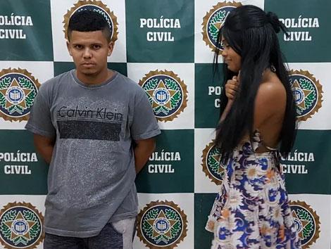 Segundo a PM, três homens renderam motorista de empresa Souza Cruz na RJ-124. Foto: Divulgação/ Polícia Civil