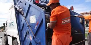 Veículos do tipo compactadores estão operando com a frota da Comsercaf. Foto: Divulgação