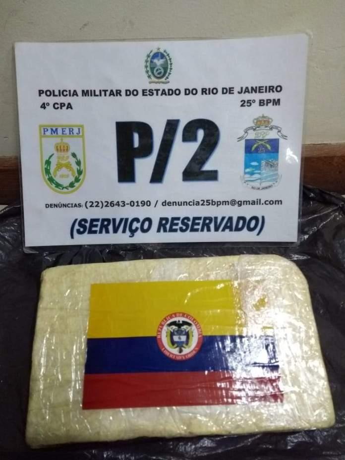 Dois suspeitos foram presos na ação. Foto: Divulgação/ Polícia Militar