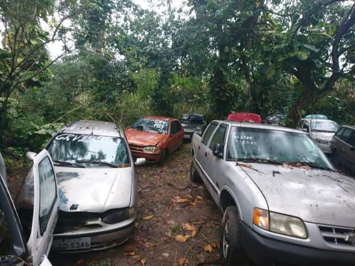 Catálogo com veículos já está disponível online para lances. Foto: Divulgação/ Prefeitura de Arraial do Cabo