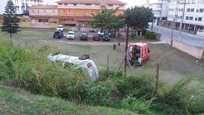 Acidente aconteceu nesta segunda-feira (20) na Prainha. Foto: Reprodução/Internet