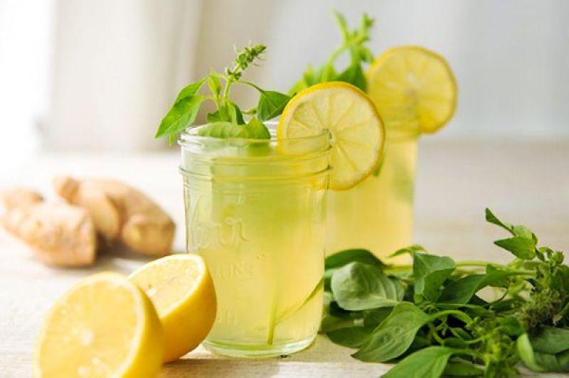 suco limao gengibre - Suco Detox Para o Inverno! Veja 5 receitas infalíveis!