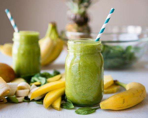 vitamina verde - Vitamina Para Ganhar Massa Muscular: Veja Várias Receitas!