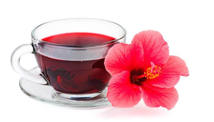 HIBISCO 1 - Chá de Hibisco: Poderoso aliado da saúde e boa forma!