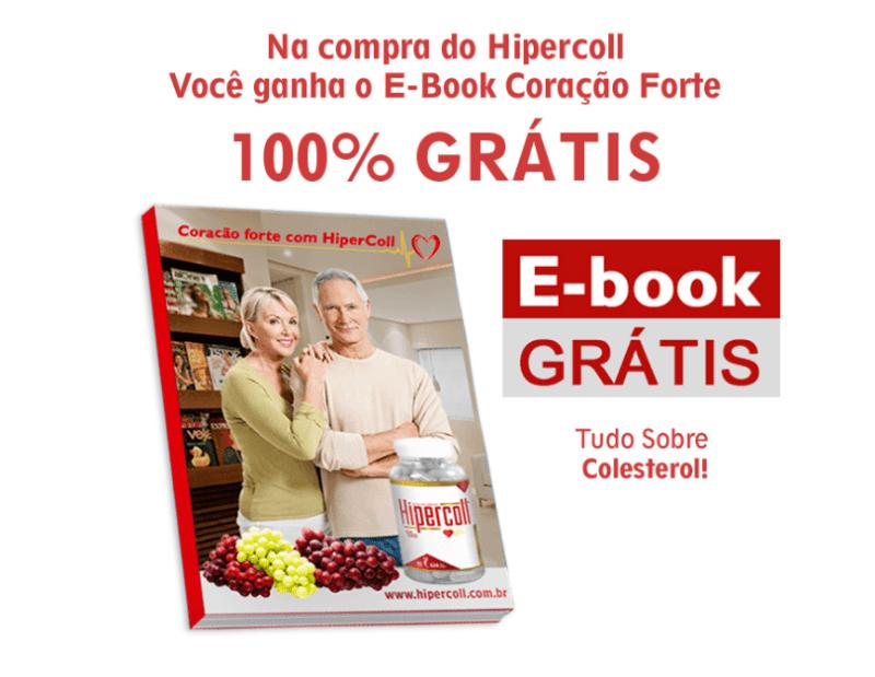 Hipercoll Funciona Combate o Colesterol brinde gratis ebook coracao forte - Hipercoll Funciona? Preço? Combate o Colesterol? Coração Forte