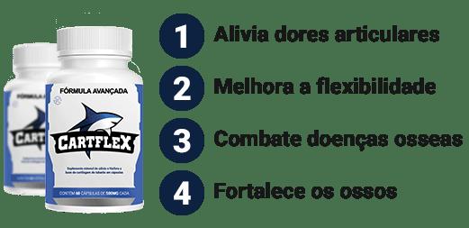 Fonte da Saude Cart Flex potes - CartFlex Ajuda nas  Doenças Ósseas e Dores Articulares