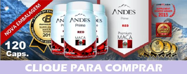 fonte da saude - Andes Prime Red maca Peruana conheca agora mesmo