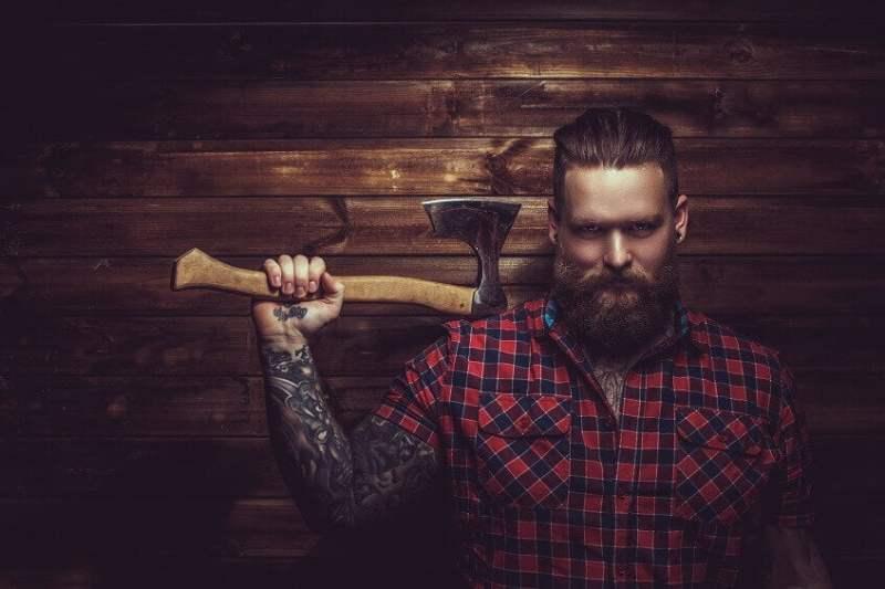 Brbeks Tenha uma barba de lenhador com o Barbeks Como fazer a barba cresce  - BRBEKS - Como Deixar a Barba Crescer Bonita e Ficar como de Lenhador