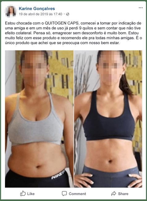 Depoimento da Karine Quitogen - Quitogen - Como Emagrecer com Saúde de uma vez por Todas!