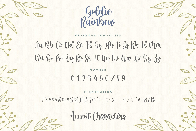 Goldie Rainbow6
