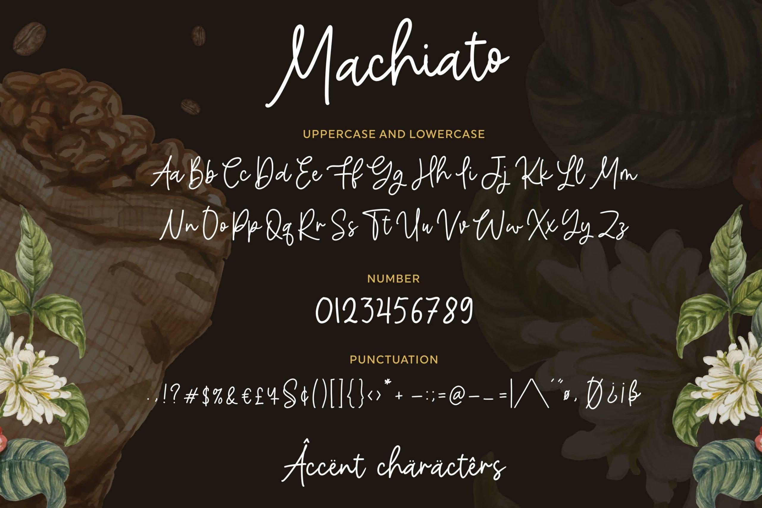 Machiato Monoline 6