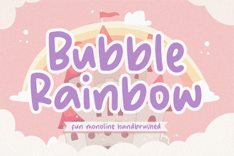 Bubble Rainbow1