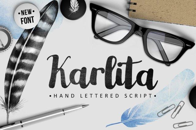 Karlita Script