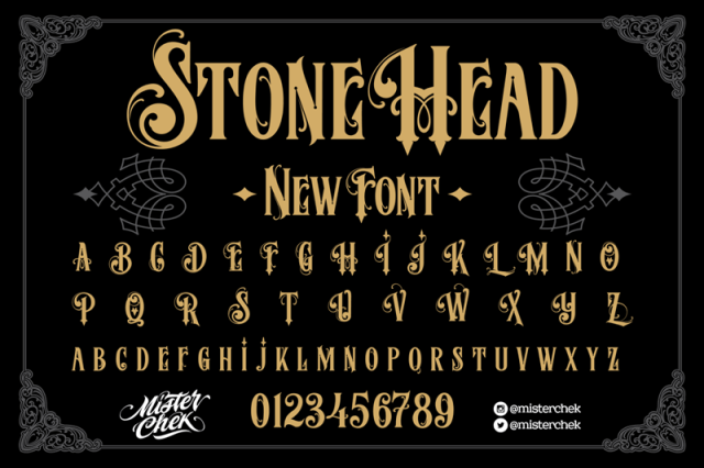MCF Stone Head