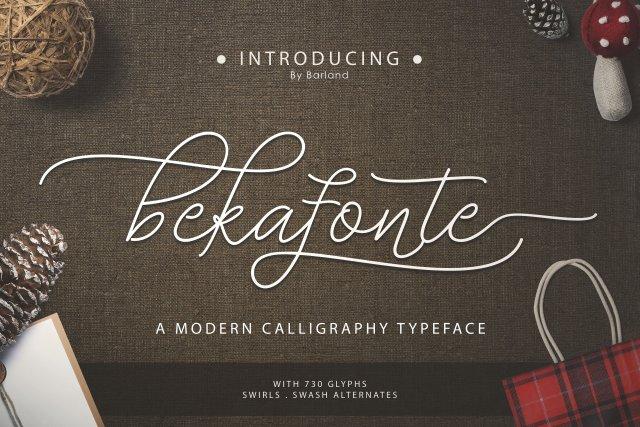 Bekafonte Script