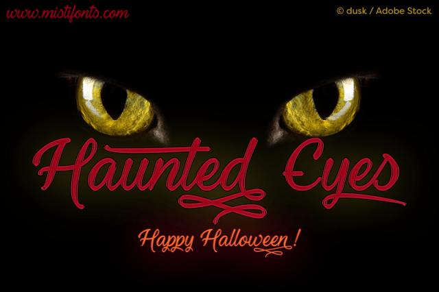 Haunted Eyes Script