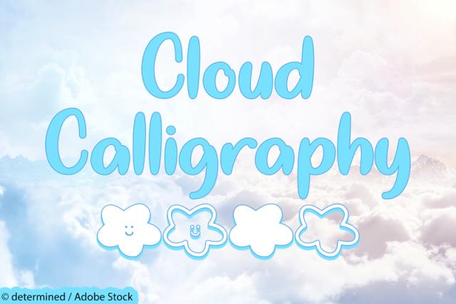 Cloud Calligraphy