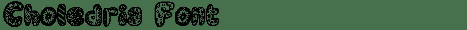 Choledria