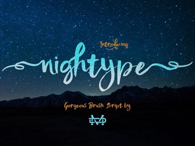 Nightype Script