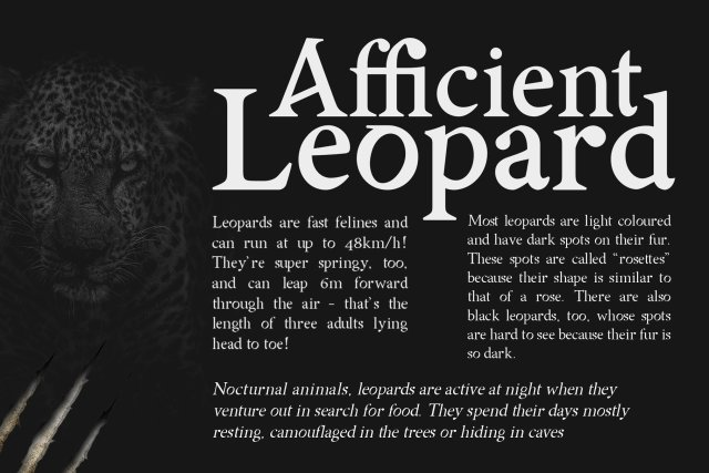 Asmath Typeface