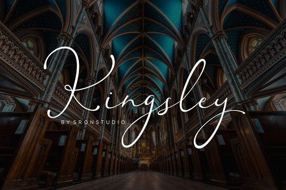 Kingsley Script