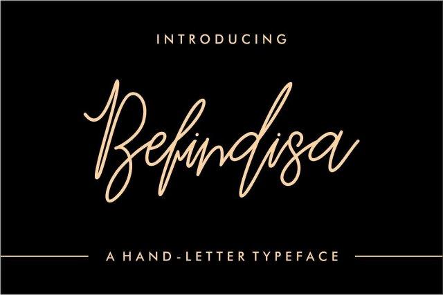 Befindisa Handwriting