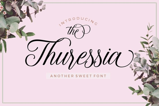 Thuressia Calligraphy