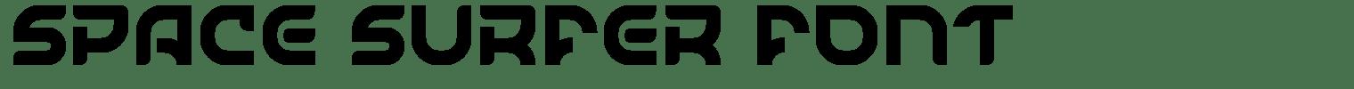 Space Surfer Font
