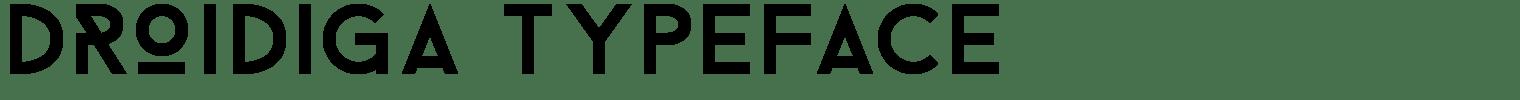 Droidiga Typeface