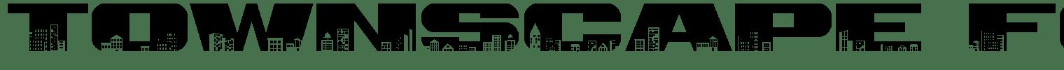 Townscape Font