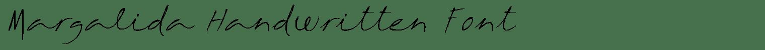 Margalida Handwritten Font