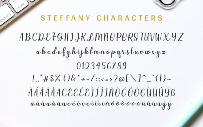 Steffany Handwriting Font Download Fonts