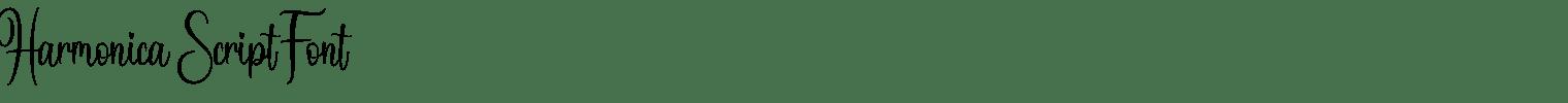 Harmonica Script Font